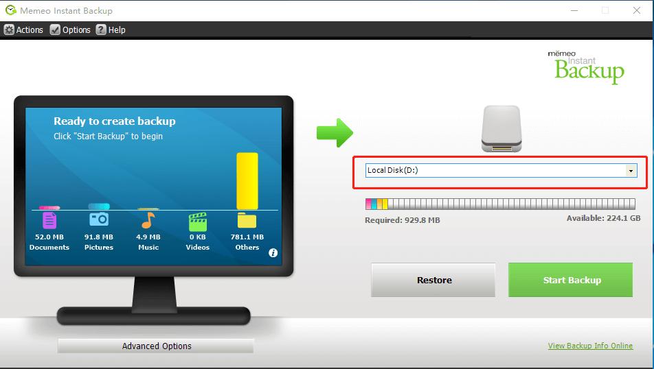 Memeo Free Backup