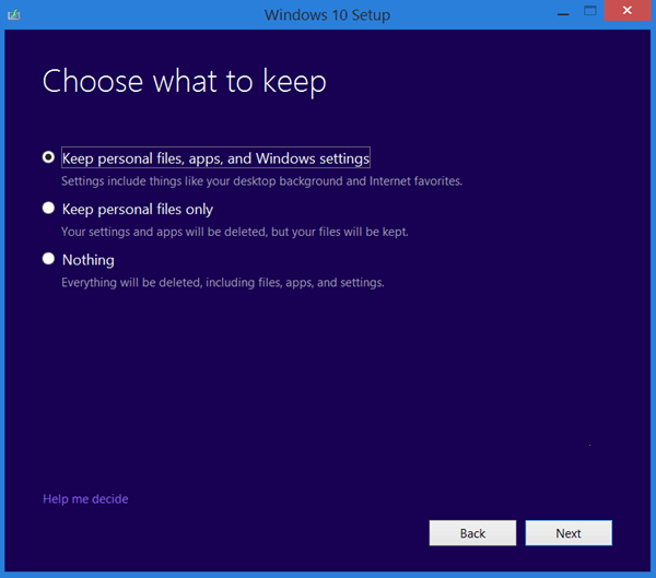 reinstallare Windows 10