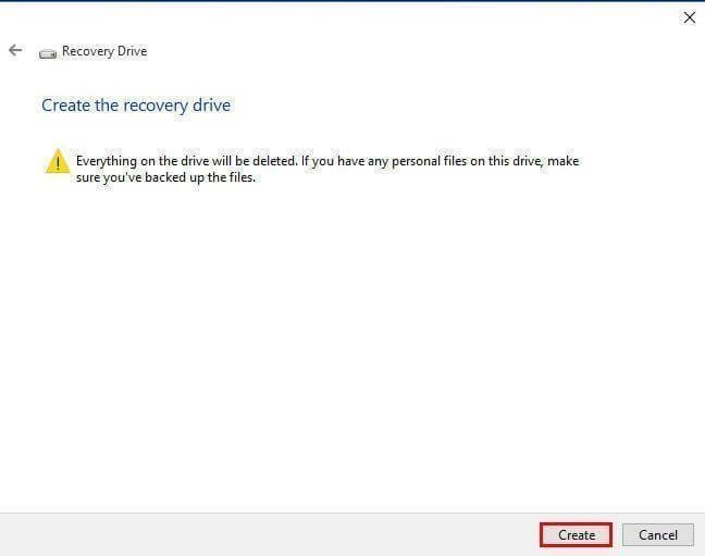 windows 10 factory reset from boot usb