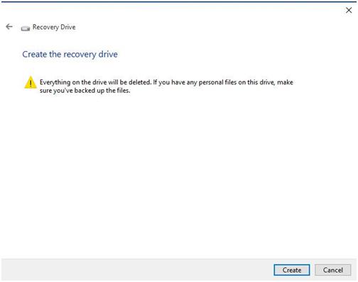 Repair Windows 10: Create Repair Boot USB Drive