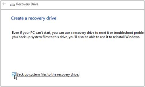 Create Windows 10 Repair Boot USB