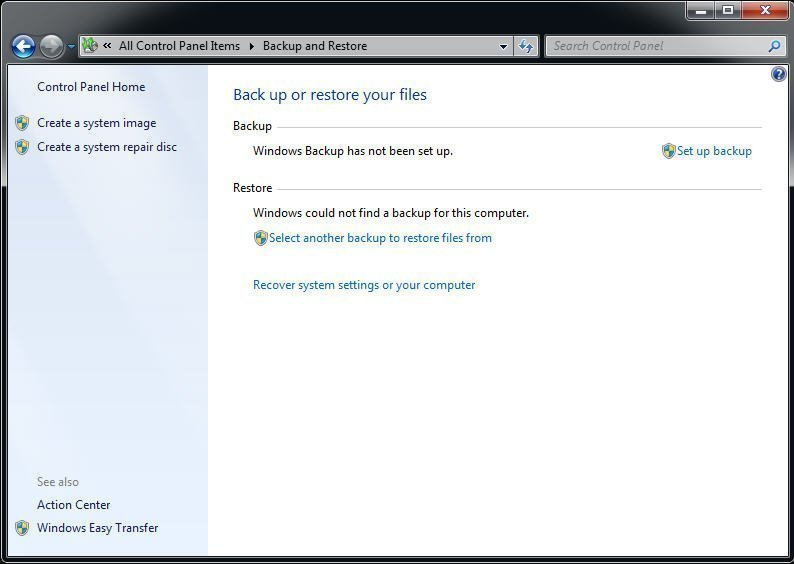 Best Free Alternative To Windows 7 Backup And Restore Tool