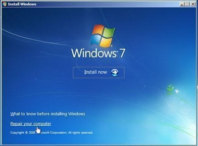 Windows 7 Boot Repair via Command Prompt (5 Ways and 2 Tips