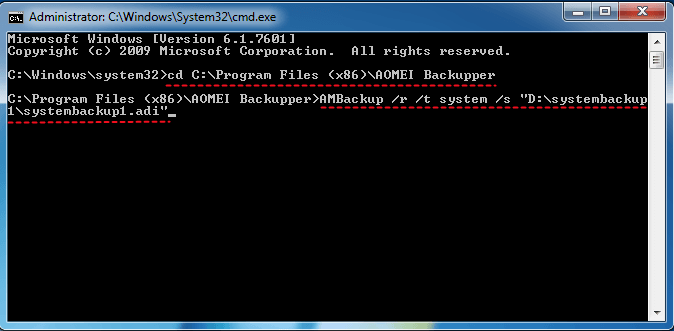 dell factory reset command prompt