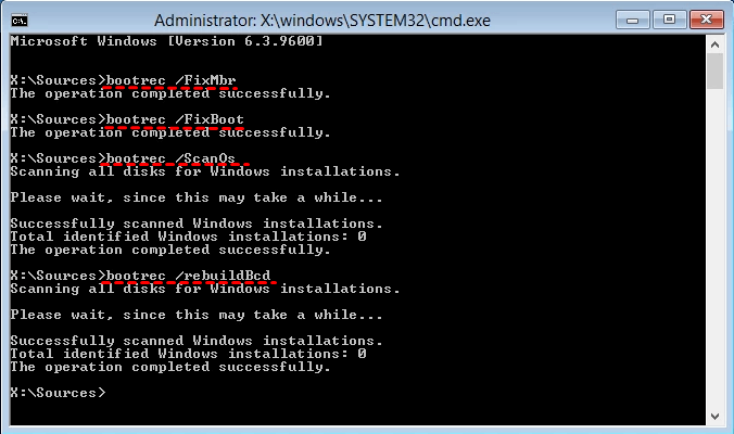 Error Loading Operating System In Windows 7 Fixed