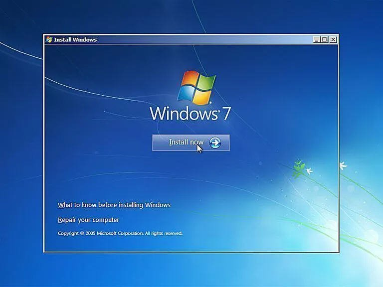 Quick Fix to Go Back to Windows 7 Missing