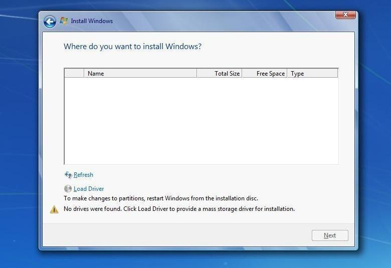 windows 7 drivers to install