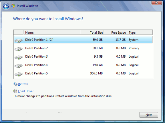 how to make a program fill up your disk drive