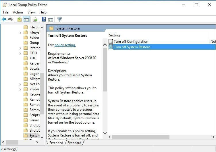 How to Turn on System Restore in Windows 7?
