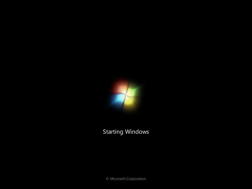 Stuck on Welcome Screen Windows 7