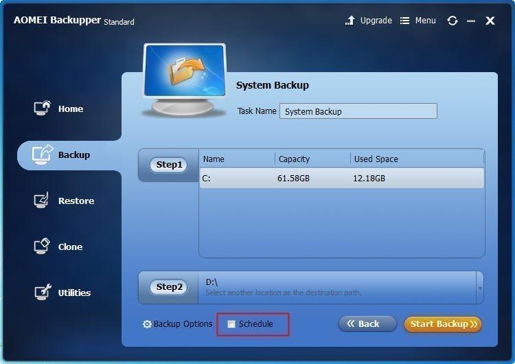 Backup System