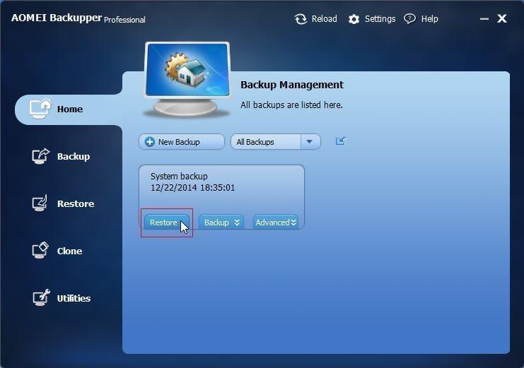 Backup Management