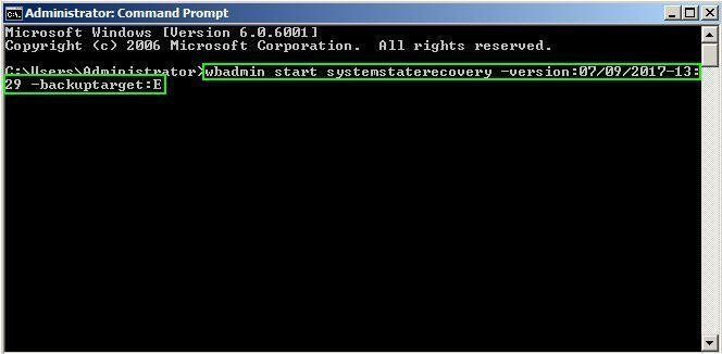Repair Windows Server 2008 R2 Using Command Prompt