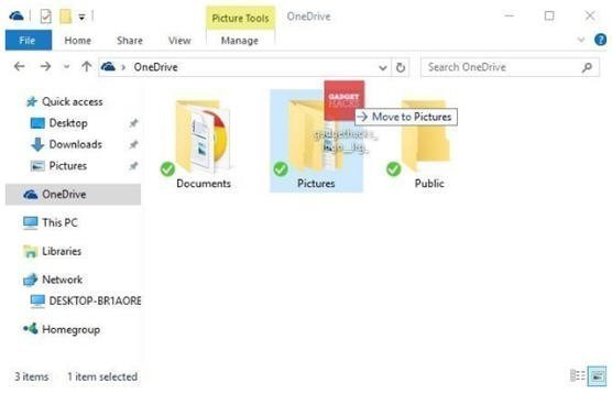 Sync to OneDrive