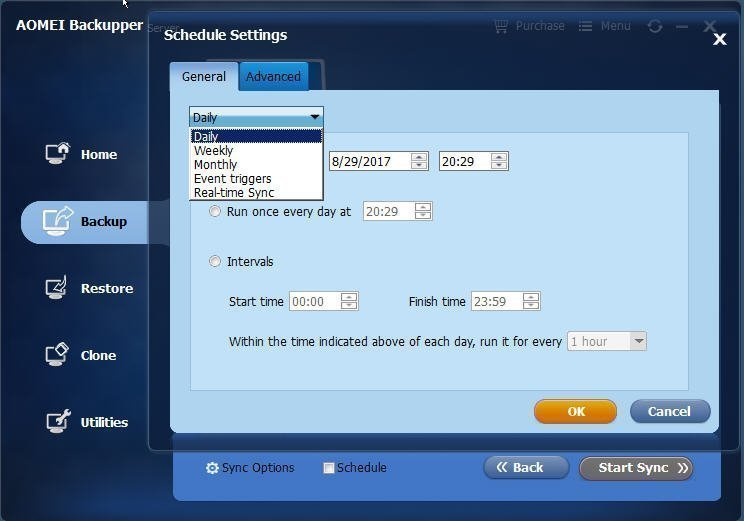 Configure Schedule Sync
