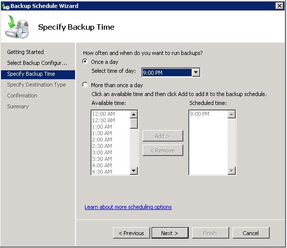 WSB Schedule